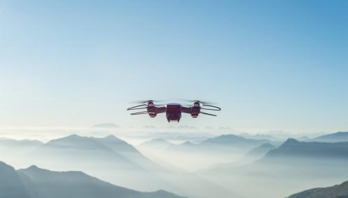 Vu du ciel : L'industrie de l'énergie prend son envol grâce aux drones