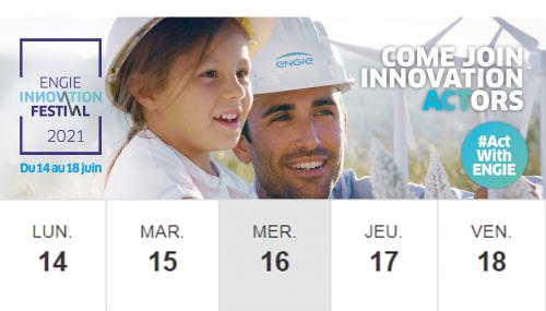 ENGIE Innovation Festival - Programme - Jour 3  - Mercredi 16 Juin