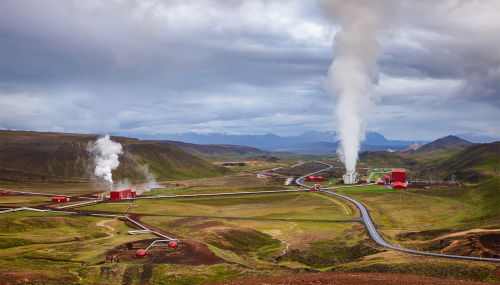 Geothermal energy, a source of heat, cold and electricity
