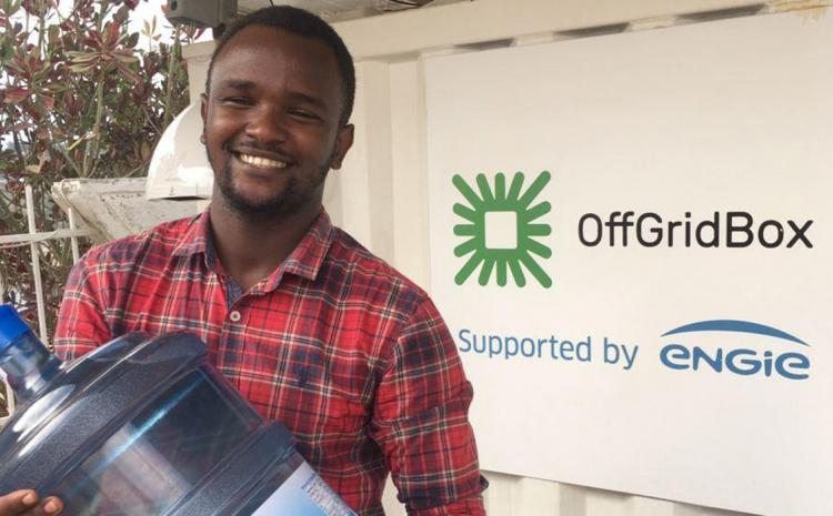 ENGIE Energy Access fournit au Rwanda une énergie propre grâce à l'innovation OffGridBox