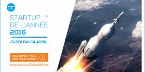 Bonjour Idée Concours Start-up de l'année 2016