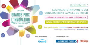 Grands Prix de l'innovation de la Ville de Paris 2018