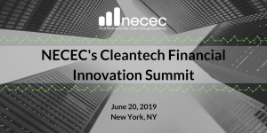 NECEC Cleantech Finance Innov Summit