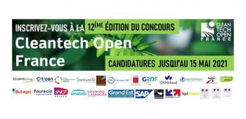 Concours Cleantech Open France 2021 APPEL A CANDIDATURE