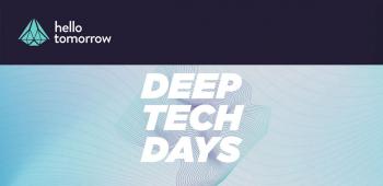 DeepTech Days Paris 2021 - Hello Tomorrow