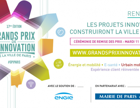 Grands Prix de l'innovation de la Ville de Paris 2018