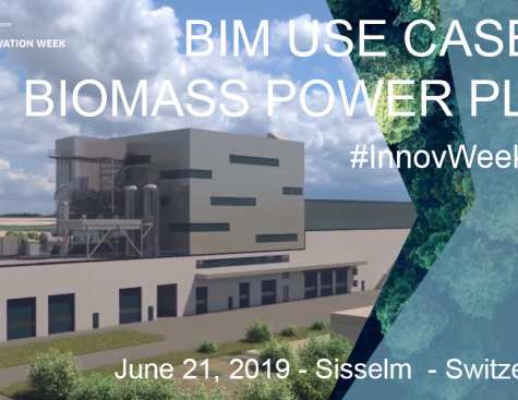 BIM Use Case on Biomass power plant in Sisseln