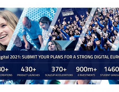 EIT DIGITAL 2021 : Proposal closing