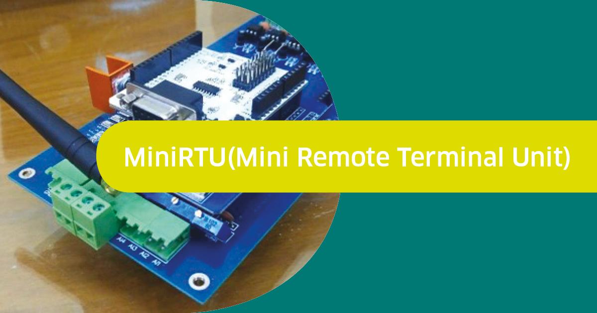MiniRTU (Mini Remote Terminal Unit)