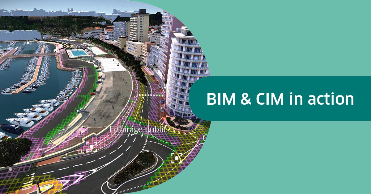 Le BIM et le CIM en action