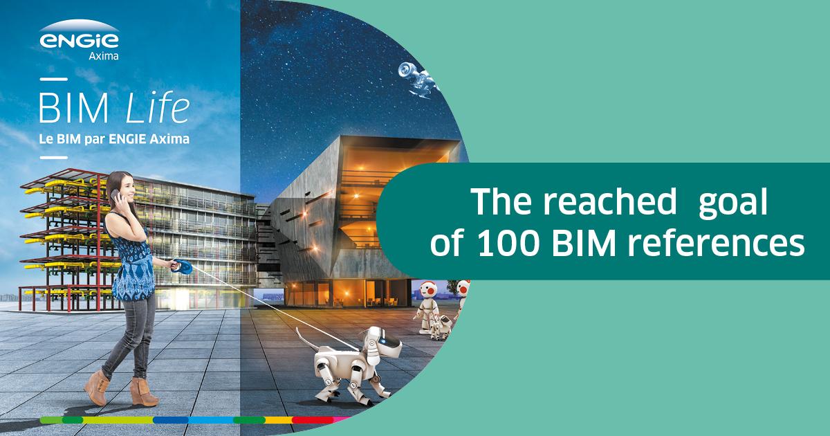 Cap des 100 références BIM atteint