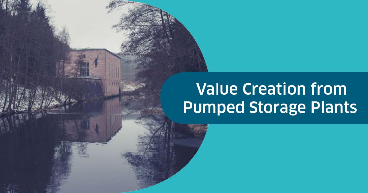 Création de valeur pour les centrales de pompage