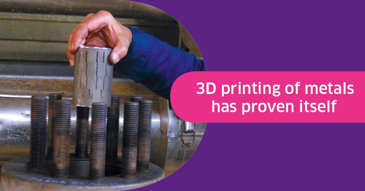 L'impression 3D métallique fait ses preuves