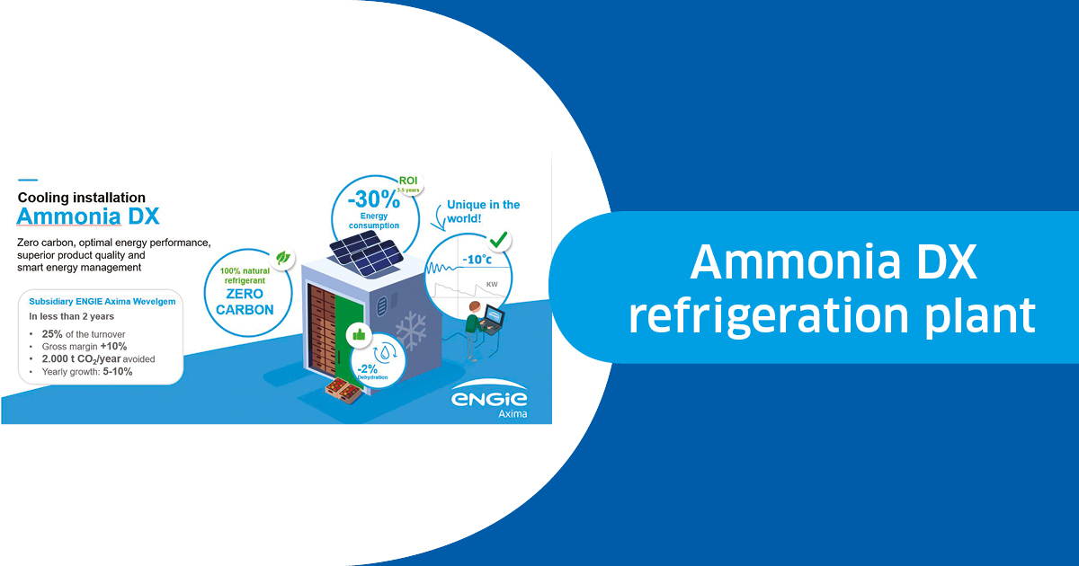 Ammonia DX refrigeration plant