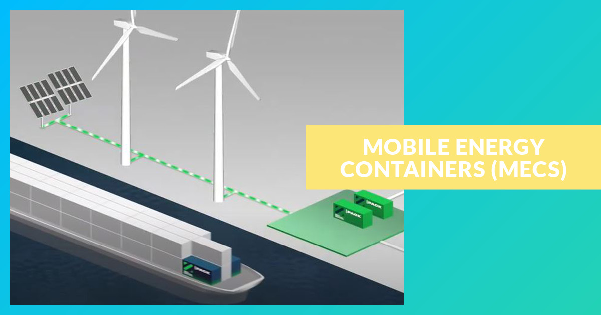 Zero Emission Services (ZES) with Mobile Energy Containers (MECs)