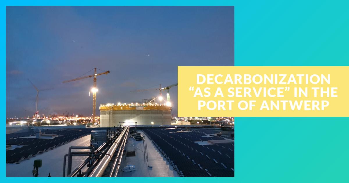 Decarboner as-aService au sein du Port d'Anvers
