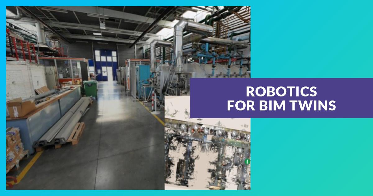 Robotics for BIM twins