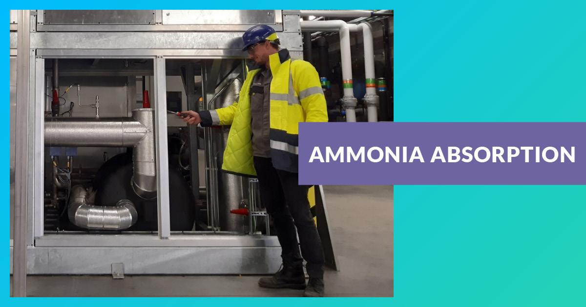Ammoniac à absorption