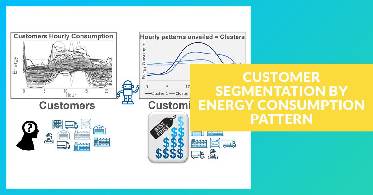 Segmentation des client via le profilage de le consommation d'énergie