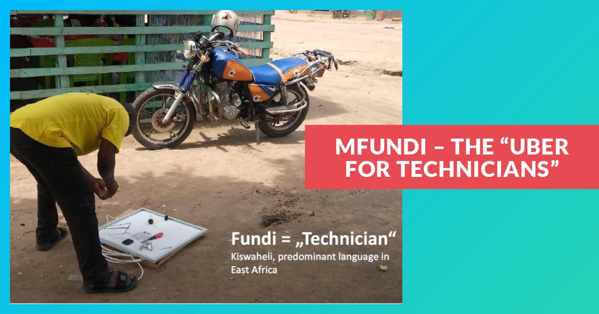 Mfundi - L'Uber des techniciens