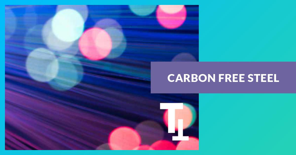 Acier sans carbone
