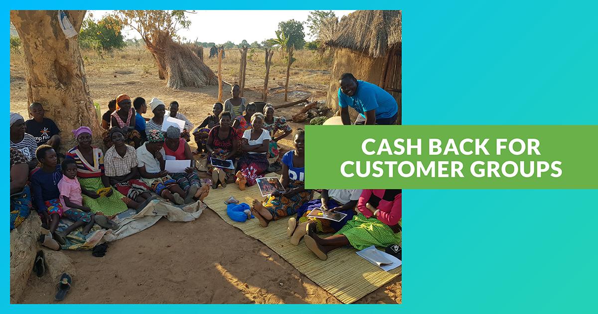 Cash Back for Customer Groups