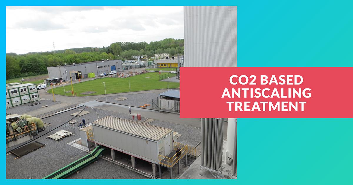 Traitement antitartre à base de CO2