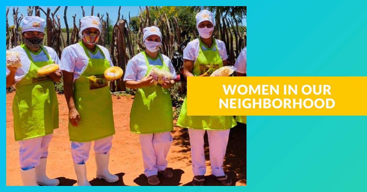 """Projet Les femmes de notre quartier"""", autonomisation et résilience"""