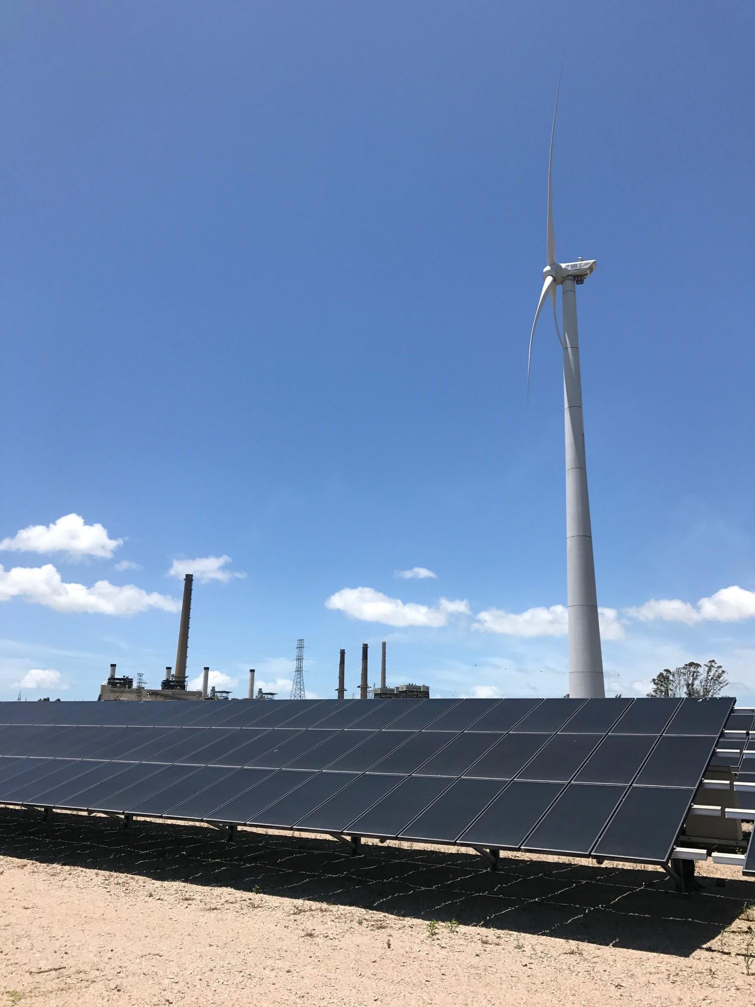 Une centrale électrique solaire communautaire au Brésil