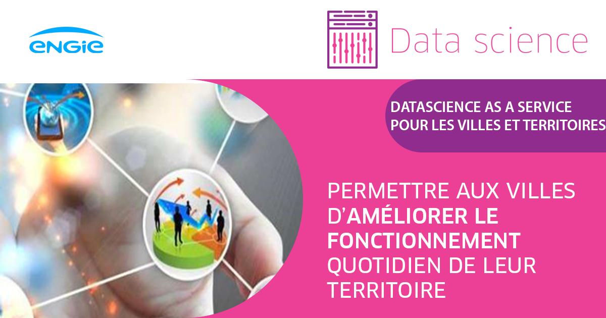 Data Science as a service pour les villes et territoires