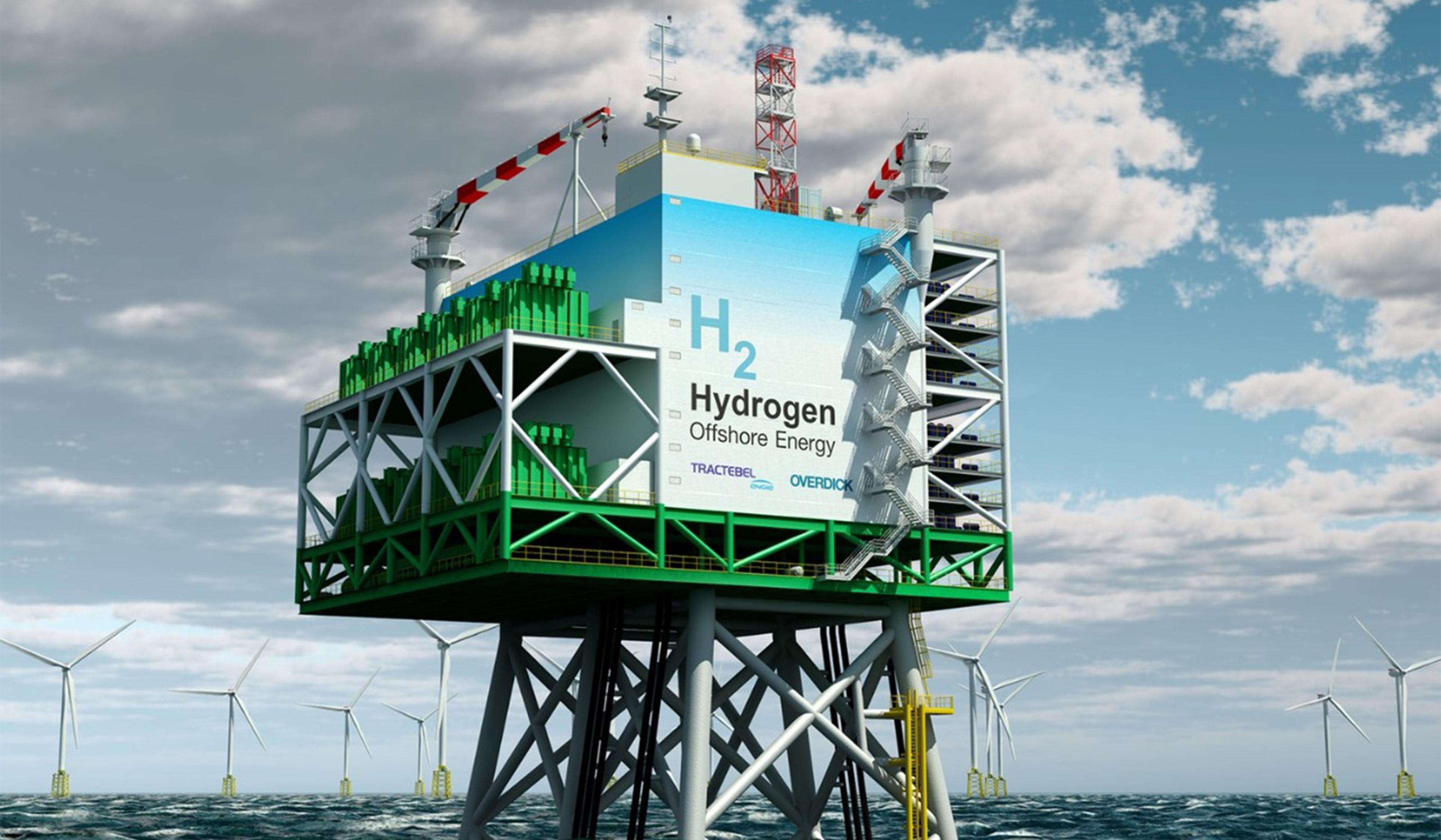Plateforme de Production d'Hydrogène Offshore de 400 MW