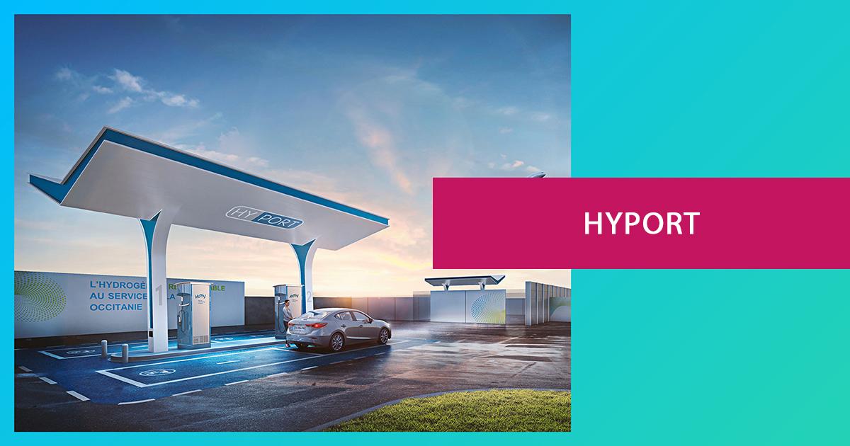 HyPort, première station d'hydrogène vert sur un aéroport