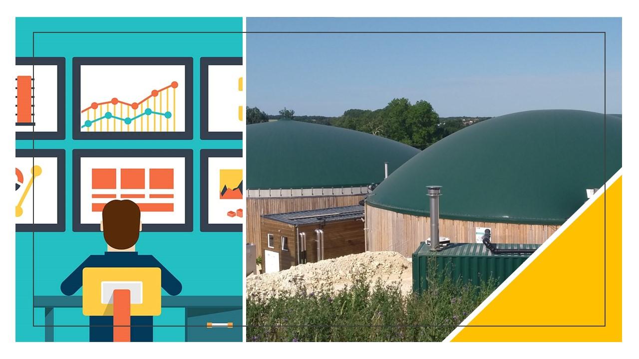 Appel à solutions innovantes pour le suivi en ligne des usines de biogaz