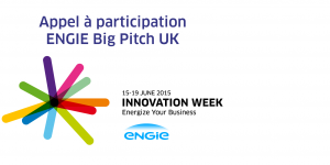 Appel à participation : semaine de l'innovation ENGIE UK