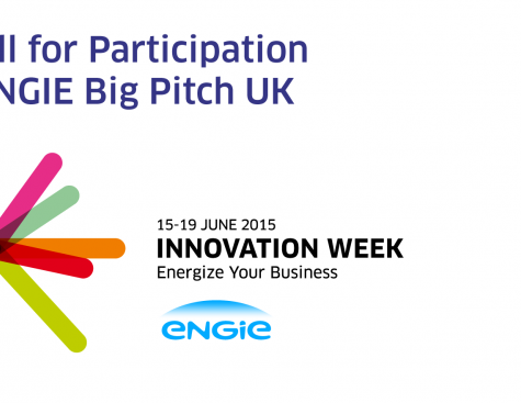 Call for Participation: ENGIE Big Pitch UK