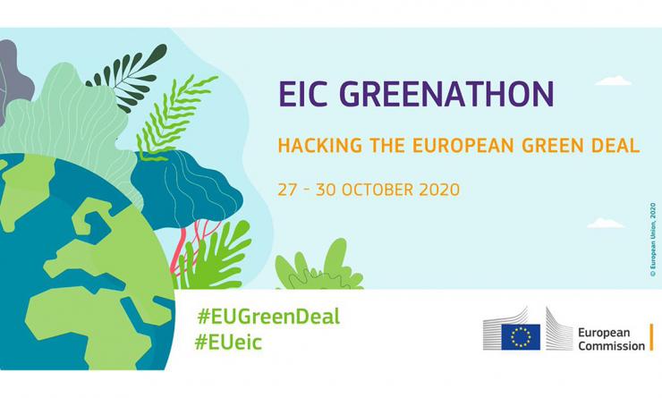 "Open Call - Europe's First ""Greenathon"": Hacking the European Green Deal"