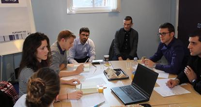 The Disruptors working alongside ENGIE UK mentors